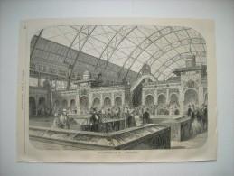 GRAVURE 1855. EXPOSITION DE L'INDUSTRIE UNIVERSELLE. LES PRODUITS ORIENTAUX. - Prints & Engravings
