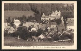 CPA Monestier-de-Clermont, Vue Generale Et Entree Du Chateau Du XVIe Siecle - France