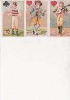 3 IMAGES - PUBLICITE :LA TEINTURE DES FAMILLES- - Vieux Papiers