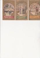 3 IMAGES - PUBLICITE : CHOCOLAT GUERIN BOUTRON - Vieux Papiers