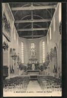 CPA Montgeron, Interieur De L'Eglise - Montgeron
