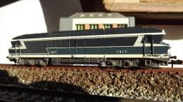 SCALA N ECHELLE - Minitrix 2906 LOCO DIESEL PESANTE SNCF BR CC 72080 - N SPUR - Locomotive