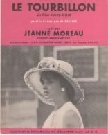 Jeanne MOREAU- Le Tourbillon - Partitions Musicales Anciennes