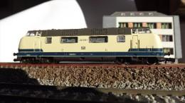 SCALA N ECHELLE - ROCO 23290 LOCO DIESEL FERROVIA SUZZARA FERRARA 220 006 - 1 - N SPUR - Locomotives