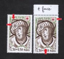 Variétés 1979 (**) Neuf 2071 ** Croix Brune Voir Observations **  Variété Croix Rouge - Varieties: 1970-79 Mint/hinged