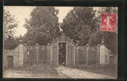 CPA Les Ardillats, Le Portail D'entrée Du Château D'Amignié - France
