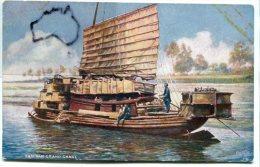 - China - Chinese Life  - SAM PAM, Grand Canal, Oilette, Rare, Splendide, Non écrite, Chromo, BE, Scans. - Chine