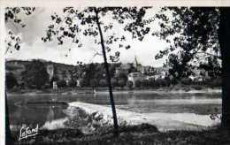 42  ST PIERRE DE BOEUF Le Rhone Et Le Village, Carte Photo Lafond - Other Municipalities