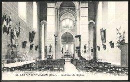 CPA Les Aix-d'Angillon, L'intérieur De L'Eglise - Les Aix-d'Angillon