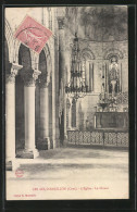 CPA Les Aix-d'Angillon, Le Choeur De L'Eglise - Les Aix-d'Angillon