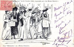 Illustrateur MERIA, Marche Des Midinettes, Organisée Par Le Journal Monde Sportif - Otros Ilustradores