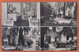 Carte Postale 06. Cap-d'Antibes  Hotel Pension Val-Fleuri    Trés Beau Plan - Antibes