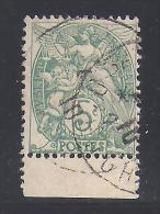 Type Blanc  N° 111 E  - Type 1B  Timbre  De Carnet Oblitéré - Cote : 13 € - 1900-29 Blanc