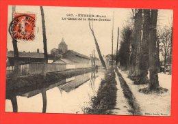 EVREUX -  Le Canal De La Reine Jeanne. - Evreux