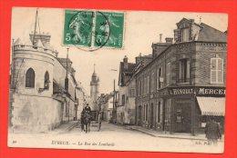 EVREUX -  La Rue Des Lombards. (animation) - Evreux