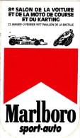 SALON DE LA VOITURE ET DE LA MOTO KARTING PAVILLON DE LA BASTILLE MARLBORO - Stickers