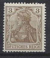 """Germany 1902 """"DFUTSCHES REICK"""" (**) MNH  Mi.PF 69 I - Unused Stamps"""