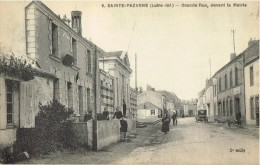 Sainte Pazanne Grande Rue Devant La Mairie. - Altri Comuni