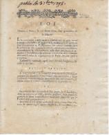 L´an 4 De La Liberté/17 Août 1792 - FORMATION D'UN CORPS ÉLECTORAL Pour Nommer Un TRIBUNAL CRIMINEL - Historische Dokumente