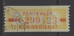 DDR - 1958 - Usato/used - Servizio ZKD - Mi N. 18 - [6] Repubblica Democratica