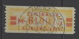 DDR - 1958 - Usato/used - Servizio ZKD - Mi N. 19 - [6] Repubblica Democratica