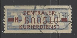 DDR - 1958 - Usato/used - Servizio ZKD - Mi N. 20 - [6] Repubblica Democratica