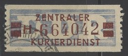 DDR - 1958 - Usato/used - Servizio ZKD - Mi N. 21 - Dienstzegels