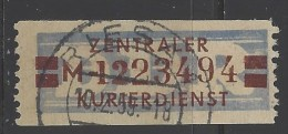 DDR - 1958 - Usato/used - Servizio ZKD - Mi N. 21 - [6] Democratic Republic