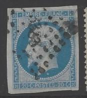 Francia - 1853 - Usato/used - Napoleone III - Mi N. 13 - 1853-1860 Napoleon III