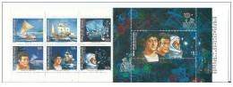 Isole Marshall - 1992 - Nuovo/new MNH - Colombo - Libretto - Mi N. 419/25 - Marshall