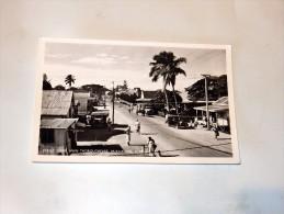 Carte Postale Ancienne : TONGA : Street Scene Main Thoroughfare, NUKALOFA - Tonga