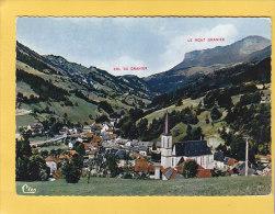 CPSM -  SAINT PIERRE D´ENTREMONT - Vue Générale - Le Col Diu Granier Et Le Mont Granier   - 10 JUILLET 1965 - Autres Communes