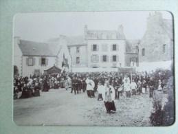 PHOTO DE ROSCOFF ( 29 BRETAGNE )  La Procession  1898/1902 - Lieux
