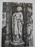 Cpa BOURG EN BRESSE   EGLISE DE BROU Statuette D' Un Tombeau Début XVI - Religione & Esoterismo