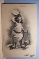 TERPSICHORE  - Muse De La Danse   ---BERGERET -  ENFANT - - Bergeret