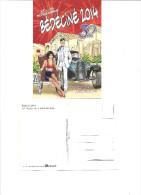 Festival Bédéciné 2014 30 Anniversaire De La Bande Dessinée à Illzach (DENAYER Et VAN HAMME) - Comics