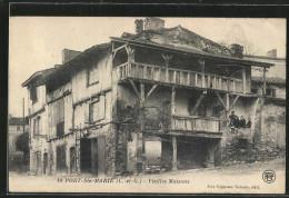 CPA Port-Ste-Marie, Vieilles Maisons, Famille - Ohne Zuordnung