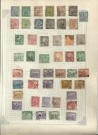 Plus De 100  Timbres Anciens   De TUNISIE.........à Voir....sur 3 Feuillets.... - Tunesië (1956-...)