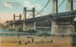 44 MEUNG SUR LOIRE Le Pont La Plage - Other Municipalities