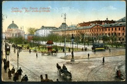 Lwow, Ulica Karola Ludwika, Lemberg, Karl Ludwig-Straße,13.3.1916, Permaneneter Krankenzug Nr. 22 - Ukraine