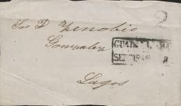 E) 1851 MEXICO, GUADALAJARA TO LAGOS, CIRCULATED COVER - Mexico