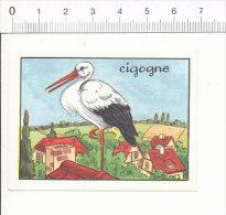 Image Editions éducatives Calvet-Rogniat / Cigogne Oiseau / IM 175/6 - Autres