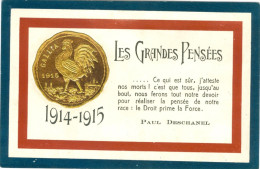 Relief - Gaufrée -embossed - Prage - Pièce D'or - Paul Deschanel  - TBE - Ohne Zuordnung