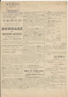L HERMITIERE VENTE BORDAGE DES MAISONS NEUVES NOTAIRE BARRE LE THEIL SUR HUISNE ANNEE 1931 FAMILLE GOUHIER MARY EPINETTE - Plakate