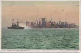 Lower New York From The Bay - Long Island