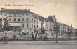 CPA ALLEMAGNE AACHEN BAHNHOFPLATZ U ROMERSTRASSE - Aachen