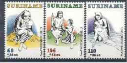 1990 SURINAM 1180-82** Pâques - Surinam