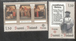 CEPT Historische Ereignisse Finnland 899 - 900     ** Postfrisch - 1982