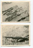 Armes Fusil Militaire FM 30 FM 24  AFN  60s  Guerre Noir Et Blanc Snapshot Amateur France X2 - Guerre, Militaire