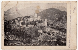 CASTELLO SABBIONARA D'AVIO - TRENTO - Vedi Retro - F. P. - Trento